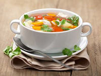 Овощной суп для похудения