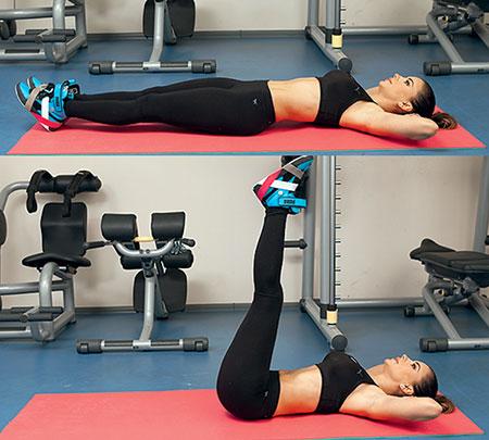 Упражнения для нижнего пресса от Ани Лорак