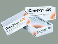 Сиофор для похудения