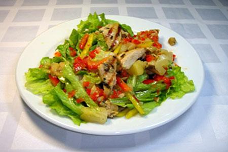 Рецепты для диеты Магги: Рагу с курицей