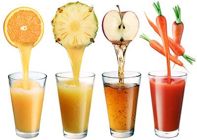 Свежевыжатые соки выводят холестерин из организма