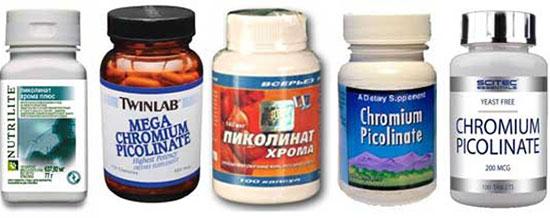 пищевые добавки – источники хрома